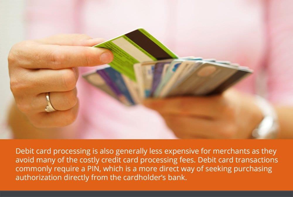 Debit Card Processing vs. Credit Card Processing