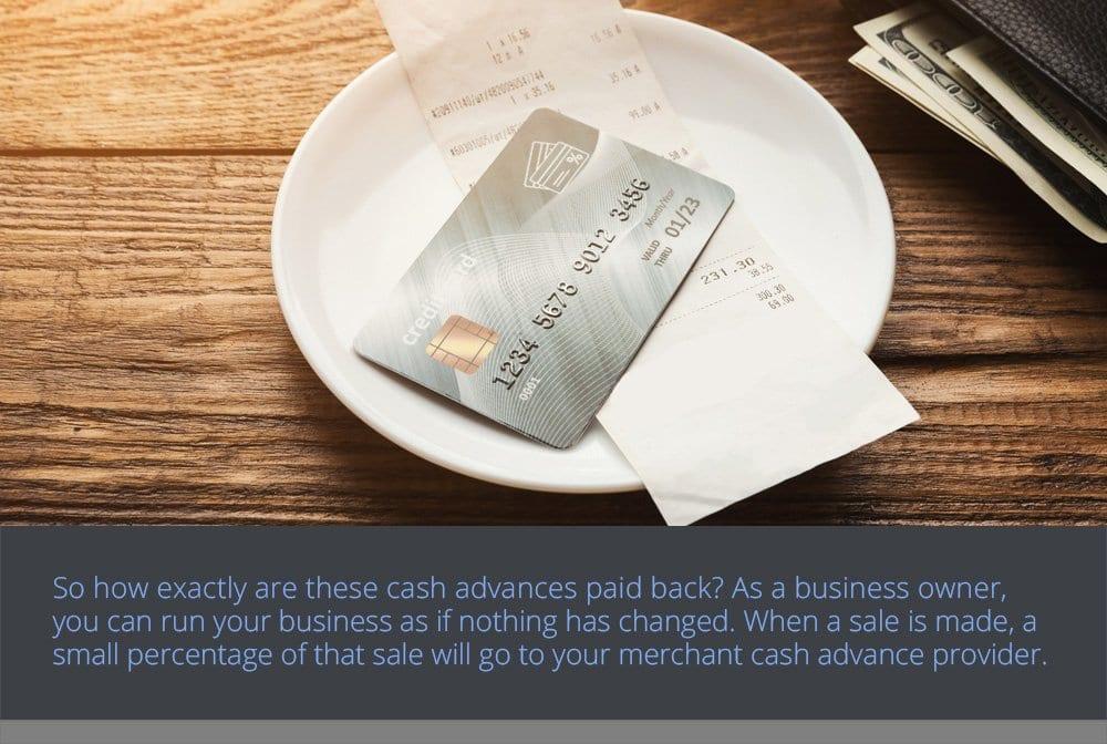 How Cash Advances are Paid Back