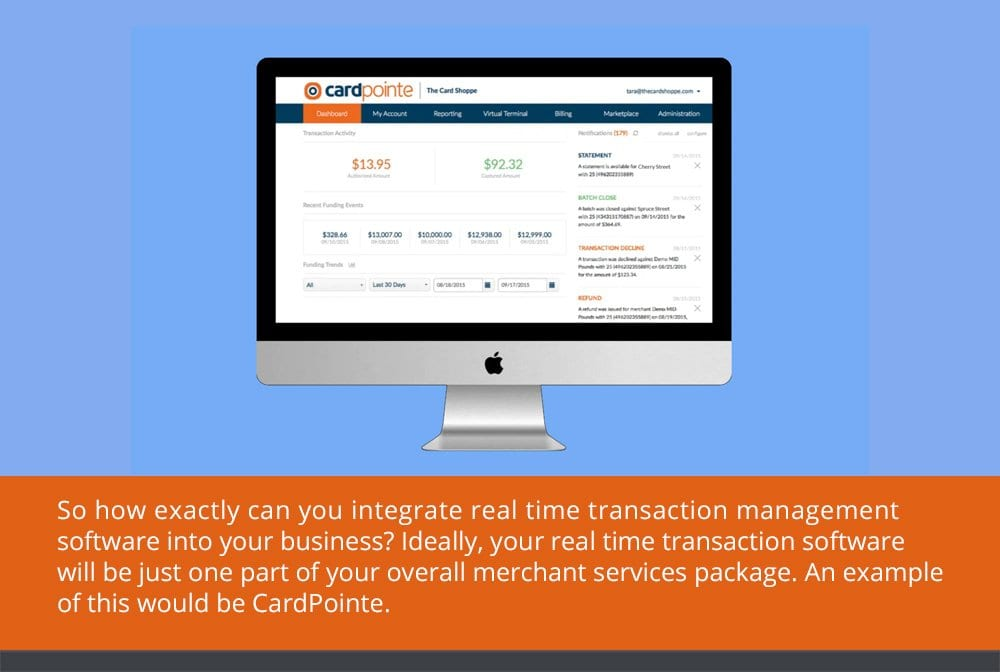 Real-Time Transaction Management with CardPointe