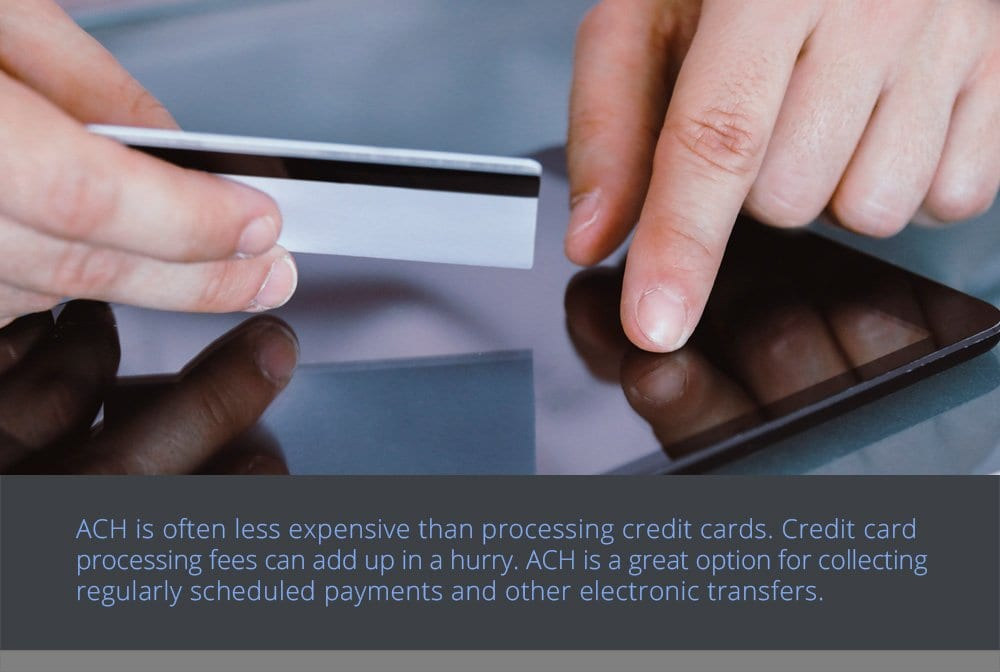 Why Should I Consider Using ACH Electronic Transfers?