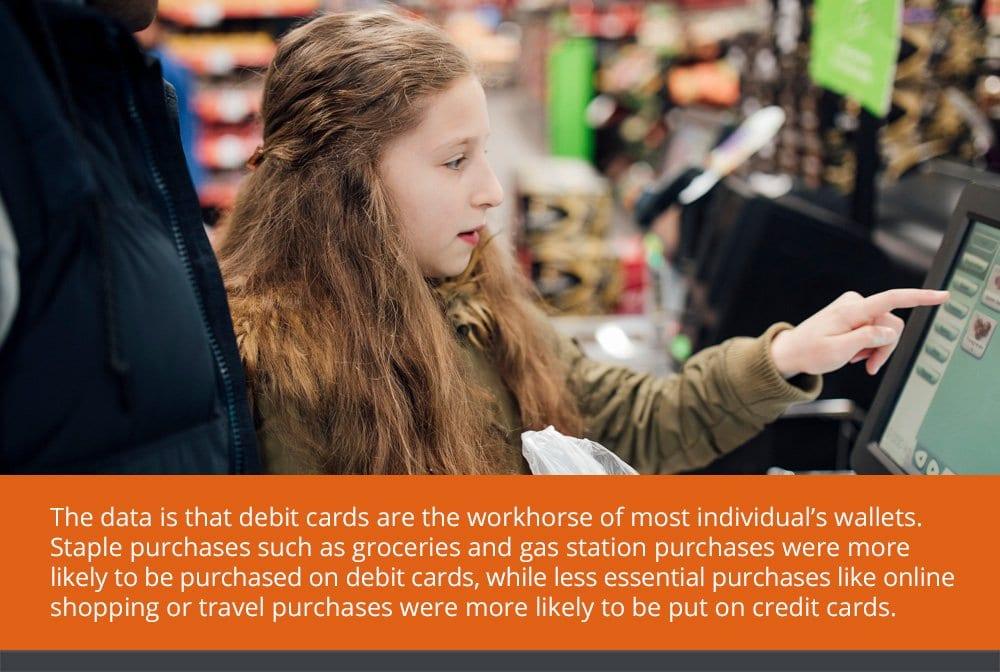 Understanding Consumer Behavior with Debit and Credit Cards
