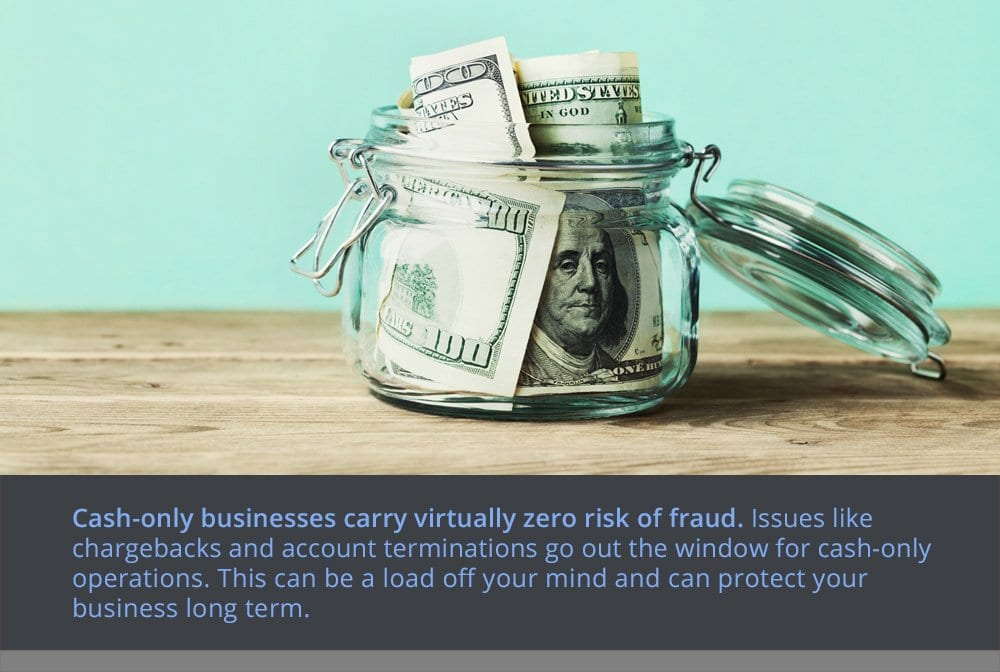 The Benefits of Owning a Cash-Only Business