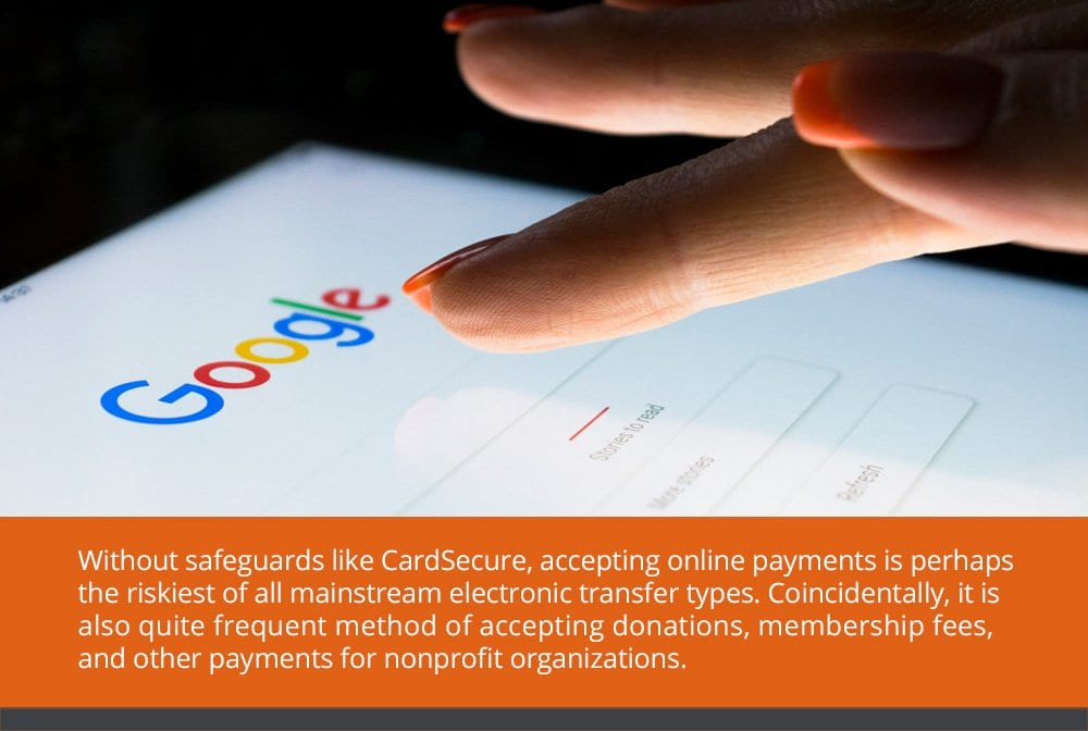 Credit Card Donations and/or Payments to NonProfits