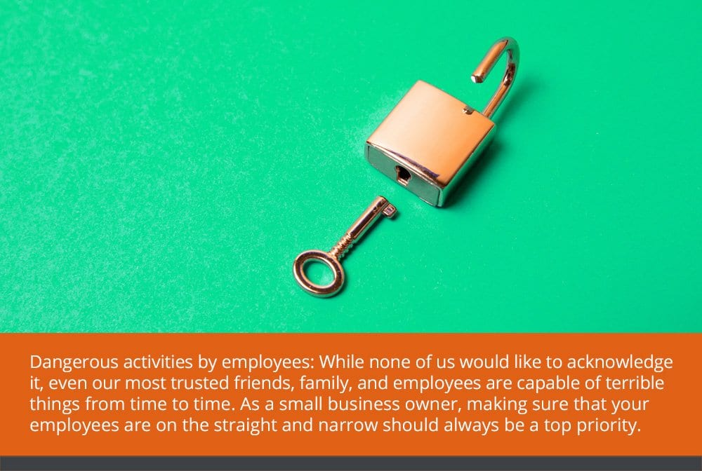 Other Security Considerations for all Businesses