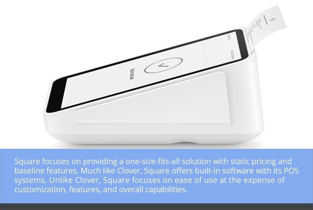 Square is a One-Size-Fits-All Payment Processing Solution