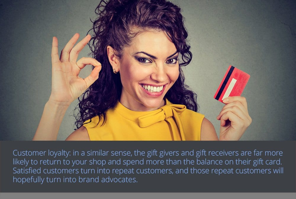 Gift Cards Build Loyalty and Brand Awareness