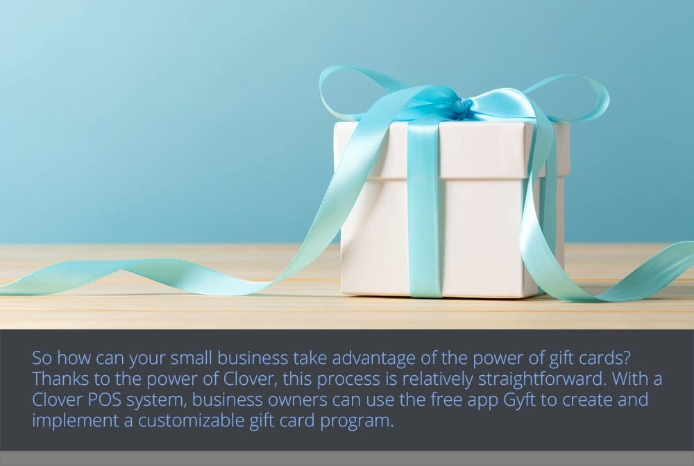 Using a POS System to Accept Gift Cards