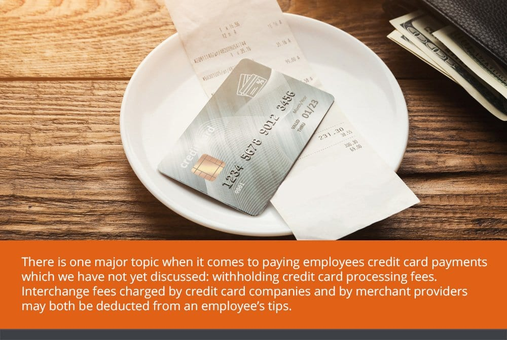 Paying Credit Card Tips to Employees