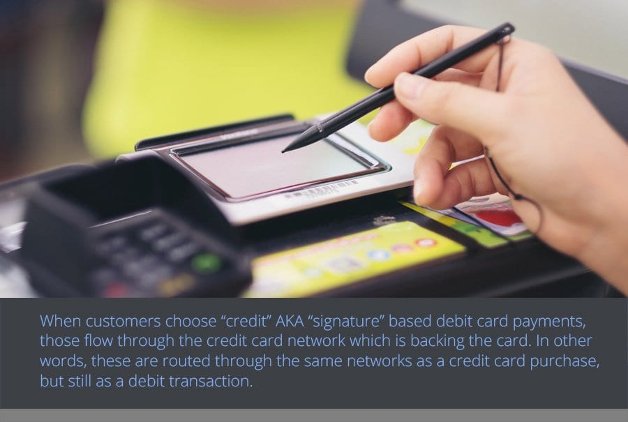 PIN vs. Signature Debit Card Payments