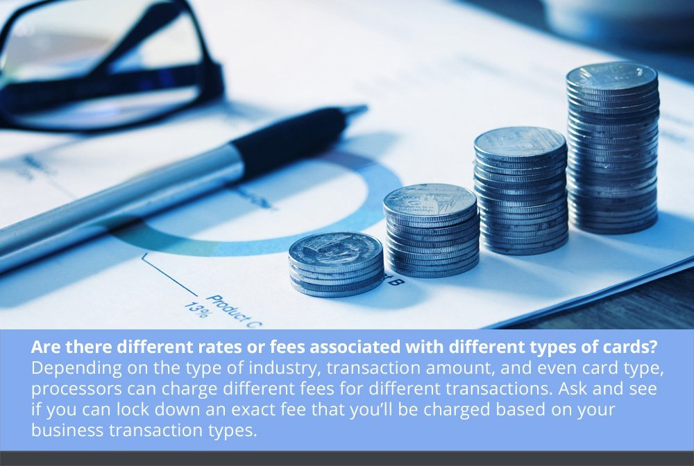 Let's Talk Rates and Fees