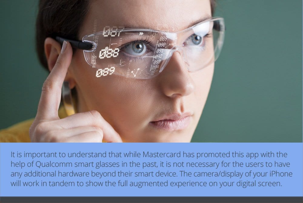 How Does the Mastercard Augmented Reality App Work?