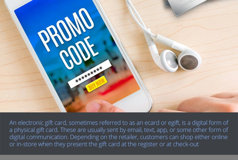 Different Kinds of Gift Cards